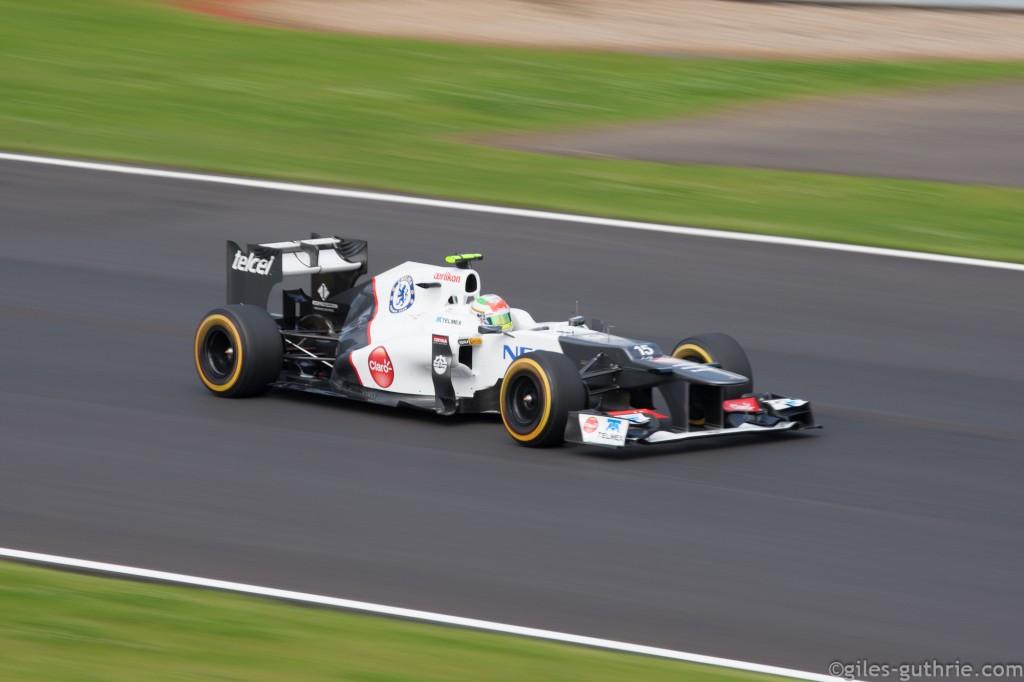 Sergio Perez, by giles-guthrie.com