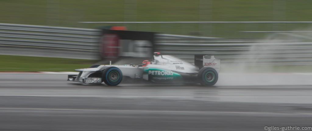 Michael Schumacher, by giles-guthrie.com