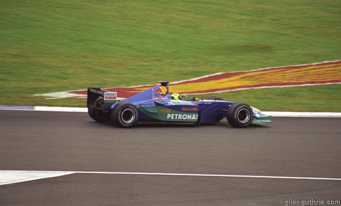 Felipe Massa, Sauber Ferrari, Silverstone 2002